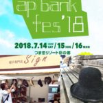ap bank fes'18 (koti market)に帽子専門店SIGN出店します!