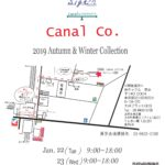 CANAL展 for 2019AW
